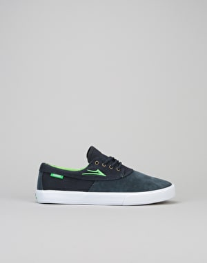 Lakai Camby Boys Skate Shoes - Navy Suede