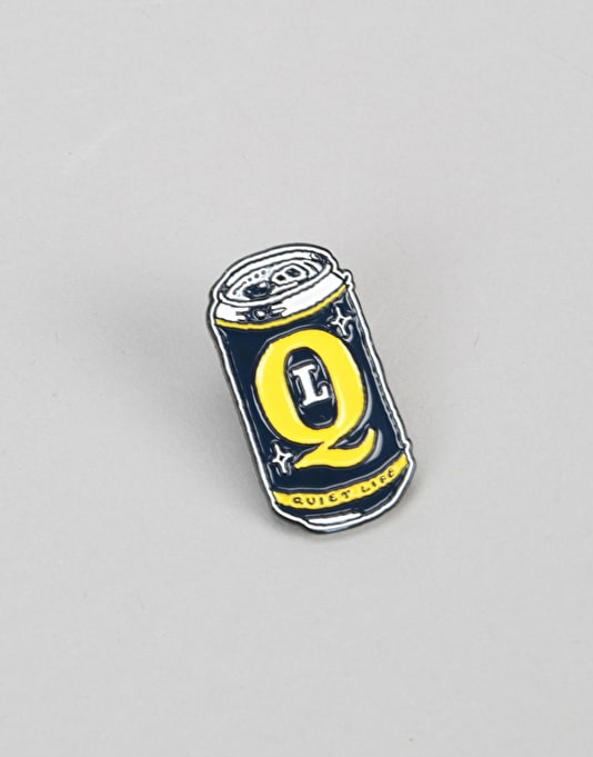 The Quiet Life Beer Can Pin