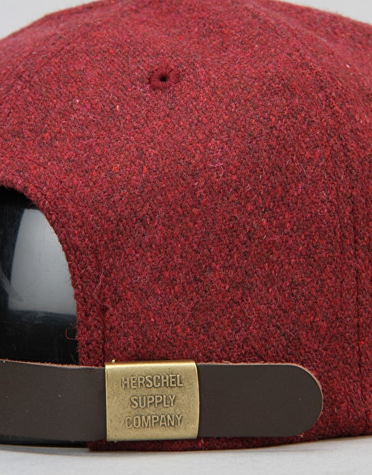 Herschel Supply Co. Harwood Strapback Cap - Windsor Wine