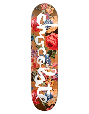 Chocolate Tershy Floral Chunk Pro Deck - 8.5