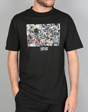 The Hundreds x Jackson Pollock Splatter T-Shirt - Black