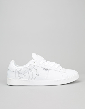 DVS Revival 2 Skate Shoes - White/Grey