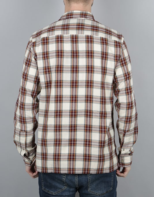Dickies Harrell L/S Shirt - Maroon