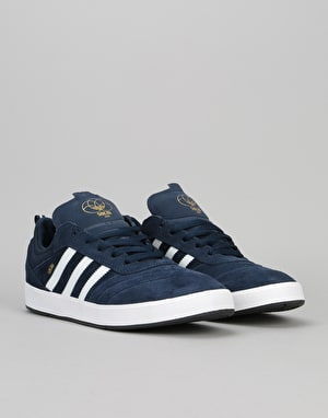 Adidas Suciu ADV Skate Shoes - Collegiate Navy/Ftwr White/Gold