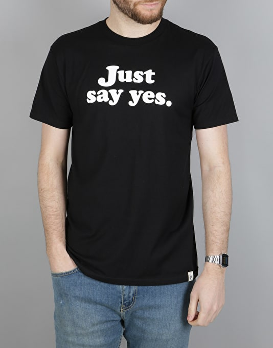 Altamont Just Say Yes T-Shirt - Black