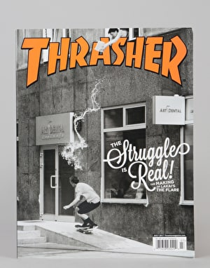 Thrasher Magazine Issue 444 July 2017