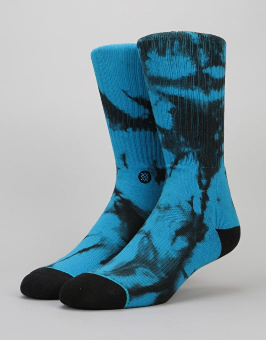 Stance Burnout Classic Crew Socks - Teal