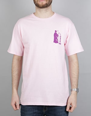 Obey Creepin' Death T-Shirt - Pink
