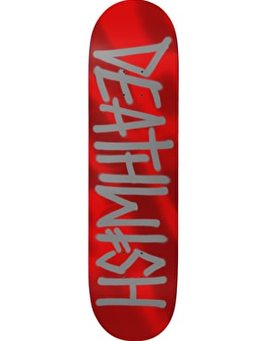 Deathwish Deathspray Red Metallic Team Deck - 8.125