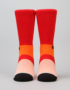 Stance Komodo Classic Light Socks - Red