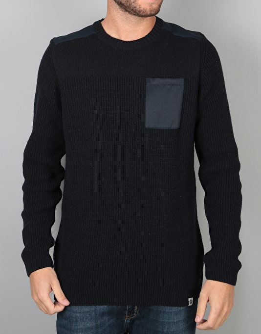 Element Coltin Knitted Sweatshirt - Eclipse Navy