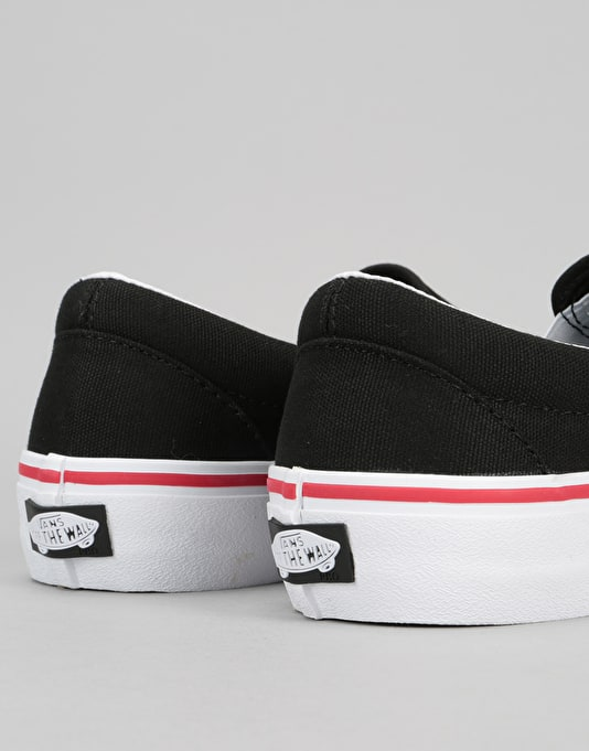 Vans Slip-On Pro Skate Shoes - (Thrasher) Black