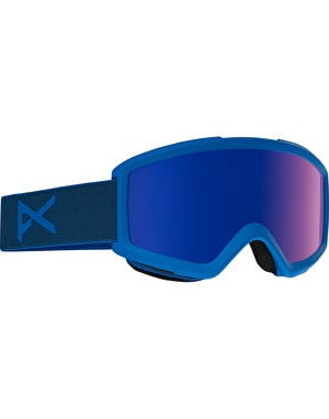Anon Helix 2.0 2017 Snowboard Goggles - Midnight/Blue Colbalt