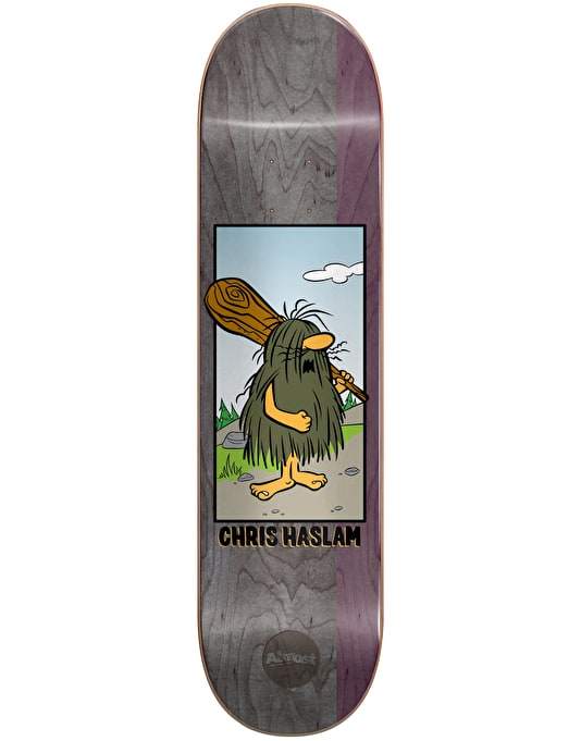 Almost x Hanna-Barbera Haslam Captain Caveman Pro Deck - 8.375""