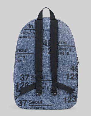 Herschel Supply Co. Packabale Backpack - Raven Crosshatch Site