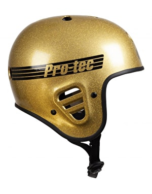 Pro-Tec Full Cut Helmet - Gold Flake