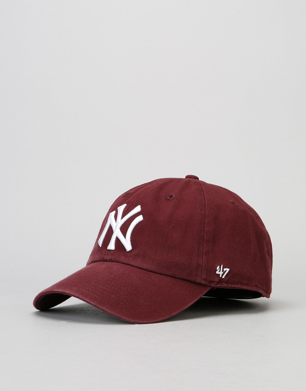 47 Brand MLB New York Yankees Clean Up Cap - Dark Maroon  ded21774a5dd