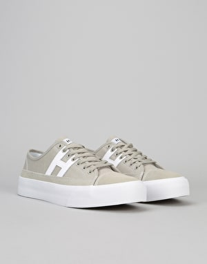HUF Hupper 2 Lo Skate Shoes - Aluminium