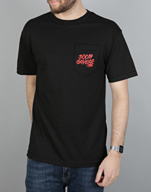 Doom Sayers Becky Pocket T-Shirt - Black