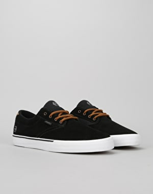 Etnies Jameson Vulc Skate Shoes - Black/Brown/Grey