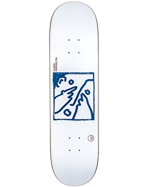 Polar Herrington Doodle Face Skateboard Deck - 8.625