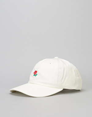 The Hundreds Rose Strapback Cap - Off White