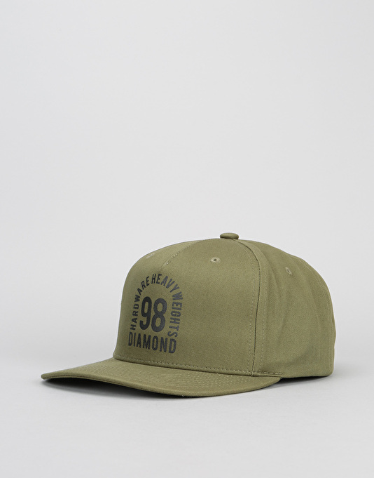 Diamond Supply Co. Access Snapback Cap - Surplus Green
