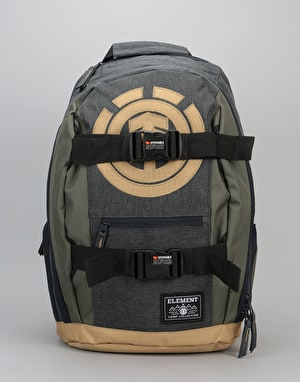 Element Mohave Skatepack - Charcoal Heather/Moss Green