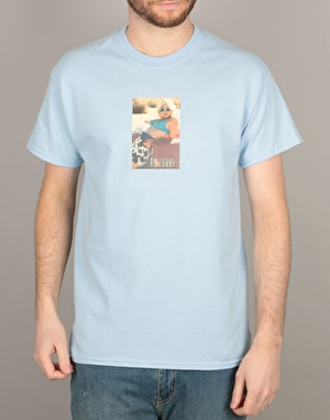 Manor Alabama T-Shirt - Light Blue