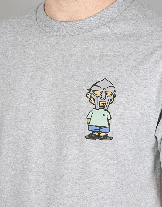 The Hundreds x MF Doom Villy T-Shirt - Grey