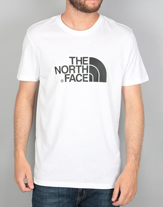 The North Face S/S Easy T-Shirt - TNF White