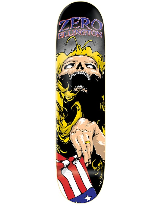Zero Ellington OG Flag Pro Deck - 8.25""