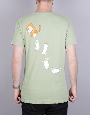 RIPNDIP Nermal Pills T-Shirt - Vintage Green