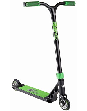 Grit Fluxx 2017 Scooter - Satin Black/Black