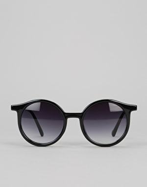 Glassy Robyn Sunglasses - Black/Gold