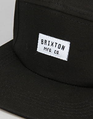 Brixton Hendrick 5 Panel Cap - Black