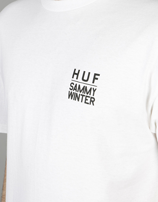 HUF x Sammy Winter T-Shirt - White