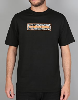 The Hundreds x Jackson Pollock Bar Fill T-Shirt - Black