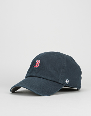'47 Brand MLB Boston Red Sox Abate Clean Up Cap - Navy