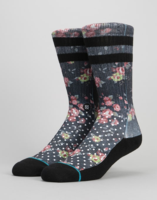 Stance Cage Classic Crew Socks - Black