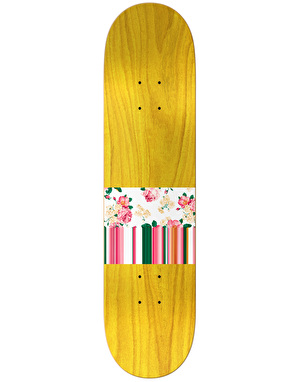 Real Davis Ornate Embossed Oval Pro Deck - 8.38