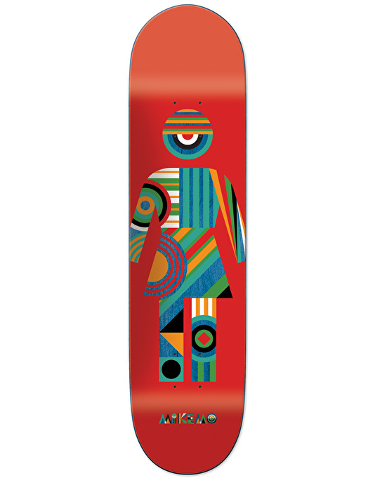 Girl Mike Mo Constructivist OG Skateboard Deck - 8.25""