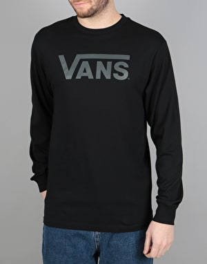 Vans Classic L/S T-Shirt - Black/New Charcoal