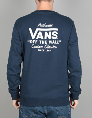 Vans Holder Street Crew Sweatshirt - Dress Blue