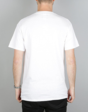 Thrasher Two-Tone Skate Goat T-Shirt - White
