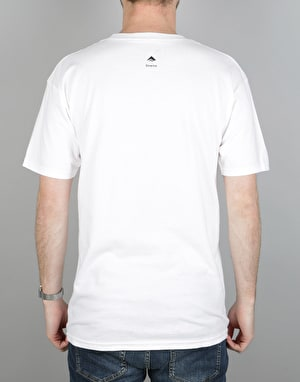 Emerica Triangle 7.1 T-Shirt - White/Black
