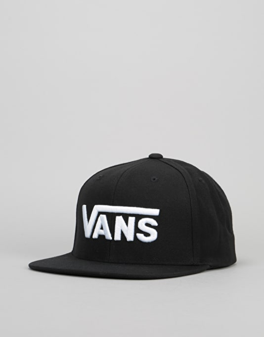 Vans Drop V Snapback Cap - Black/White