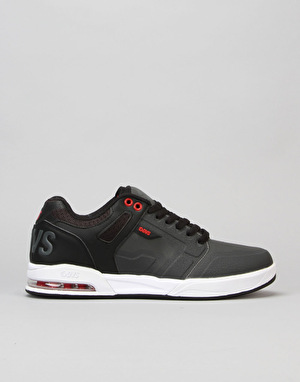 DVS Enduro X Skate Shoes - Grey/Black/Red