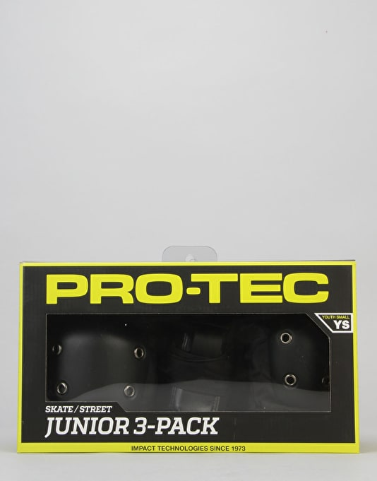 Pro-Tec Street Gear Junior Triple Padset - Black