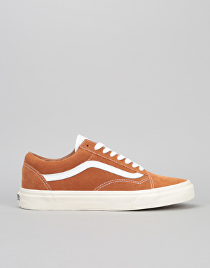 Vans Old Skool Skate Shoes - (Retro Sport) Glazed Ginger